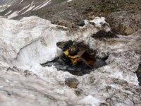 Çığ faciasında kar altında kalan araçlar karların erimesiyle ortaya çıktı