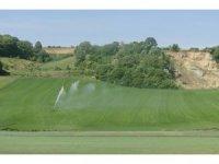 Tekirdağ'da 31 bin 395 dekar tarım arazisi sulanmaya başladı
