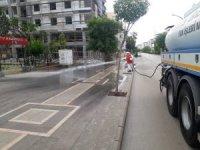Kilis'te caddeler yıkanıyor