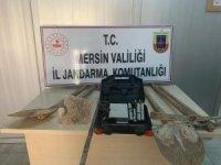 Mersin'de izinsiz kazı yapan 3 kişi yakalandı