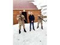 Sisdağı Yaylasında mahsur kalan vatandaş Jandarma ekipleri tarafından kurtarıldı