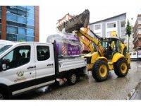 Altınordu'da çöp konteynerleri değiştiriliyor