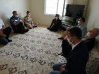 Çınar'da şehit aileleri ve gazilere bayram ziyareti