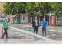 Kütahya'nın cadde ve sokakları dezenfekte edildi