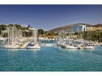 40 yatçı bayramı Kuşadası'nda marina içinde izole şekilde geçiriyor