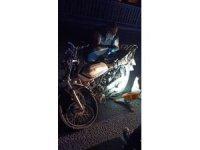Motosiklet traktöre çarptı: 1 ölü