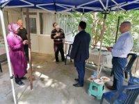 AK Partili Bekle'den şehit ailesine bayram ziyareti
