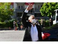 Büyükkılıç 'Mehter takımı' ile vatandaşların bayramlarını kutladı