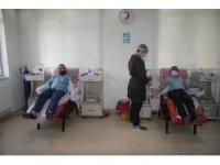Kilis'te sokağa çıkma yasağı kan bağışı ile delindi