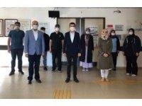 İscehisar Kaymakamı Kapar kamu personelinin bayramını kutladı