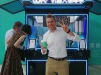 30 saniyede kahve hazırlayan robot barista
