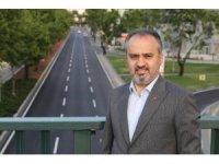 Bursa'da pandemide yollar yenilendi
