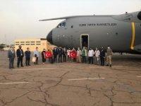 "MSB: ""Çad'dan TSK'ya ait uçağımız 14 vatandaşımızı da alarak dönüşe geçti"""
