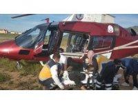 Hava38 Kahramanmaraş'taki hasta için uçtu