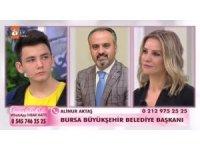 Bursa Büyükşehir Belediye Başkanı Aktaş Uğurcan'a sahip çıktı