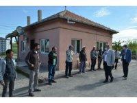 Başkan Altun, belediye personeli ile bayramlaştı