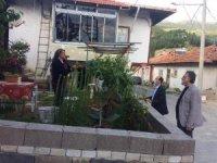 İnceğiz köyü ve Şaphane merkezde karantina tedbirleri devam ediyor