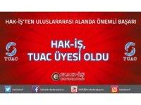 HAK-İŞ'ten uluslararası alanda önemli başarı: HAK-İŞ TUAC üyesi oldu