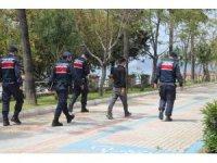 Alanya'da 198 kişiye 167 bin TL ceza