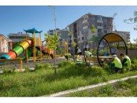 İpekyolu Belediyesi parkları pandemi sonrasına hazırlıyor