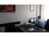 Yozgat, öğrencilerle online olarak buluştu