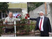 Belediye Başkanı Yüksel, çat kapı bayram ziyaretlerinde bulundu