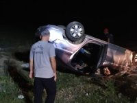 Elazığ'da otomobil takla attı: 1 yaralı