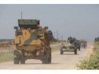 """MSB:""""TR-RF Mutabakatı çerçevesinde; İdlib'deki M4 Karayolunda, kara ve hava unsurlarının katılımıyla 13'üncü Türk-Rus Birleşik Kara Devriyesi icra edildi."""""""