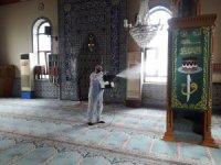 Kdz. Ereğli Belediyesi camileri dezenfekte ediyor