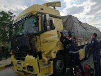Salihli'de trafik kazası: 1 yaralı