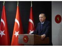 """Cumhurbaşkanı Erdoğan: """"Hayatın her alanında Türkiye parlayan bir yıldız olarak öne çıkıyor"""""""