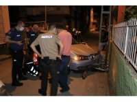 Silah sesi ihbarına giden polis ekipleri kurşunlanmış otomobili buldu