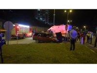 Bartın'da otomobil ile kamyonet çarpıştı: 3 yaralı