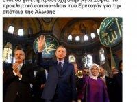 Ayasofya'da Fetih programı Yunanları rahatsız etti