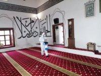 Osmaneli'ndeki tüm camiler temizlendi ve dezenfekte edildi