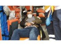 Samsun'da iki motosiklet çarpıştı: 1 yaralı