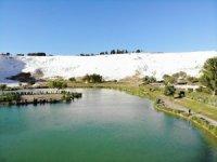 Pamukkale en güzel beyazlığı ile 1 Haziran'a hazır