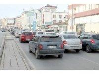 Sivas'ta araç sayısı arttı