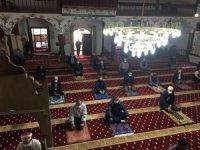 578 yıllık cami 72 gün sonra cemaatle buluştu