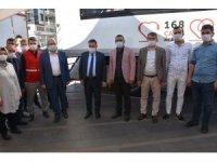 Başkan Beyoğlu Kızılay'a kan bağışında bulundu