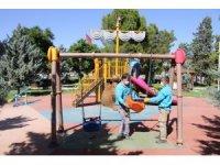 Haliliye'de parklar normalleşme sürecine hazır