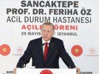 Cumhurbaşkanı Erdoğan: Şehir hastanelerinin ne kadar önemli olduğunu gördük