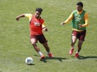 Galatasaray, Rizespor hazırlıklarını yoğun tempoda sürdürüyor