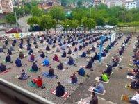 Gülüç Belediyesi Cuma Namazı öncesi dezenfekte yaptı