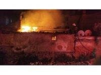 Söke'de yangın panik yaşattı