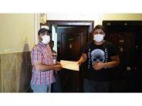 LGS'ye girecek öğrencilere maske ve deneme sınavı dağıtıldı