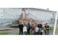 Doğubayazıt'ta şiddetli rüzgâr nedeniyle zarar gören okullarda hasar tespit çalışması yapıldı
