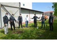 Fedakar sağlık çalışanlarına ağaç dikme etkinliği düzenlendi