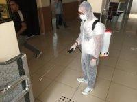Bingöl'de dezenfekte çalışmaları