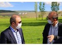 Demirözü sulaması ile 112 bin 600 dekar tarım arazisinin sulanması sağlanacak
